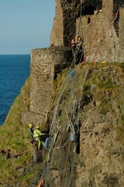Rope access dunluce co antrim