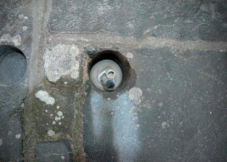 Cintec anchor installed to repair structural cracks at Mount Stewart House, Newtownards, Co. Down, N. Ireland