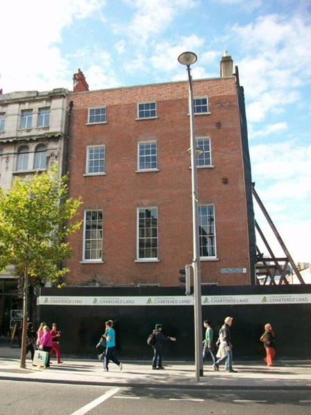 Cintec anchors were installed to repair structural problems and cracking masonry at 42 O'Connell St, Dublin, Ireland