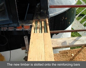 Timber Resin Splice Repair System