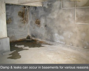 Existing Basement Waterproofing